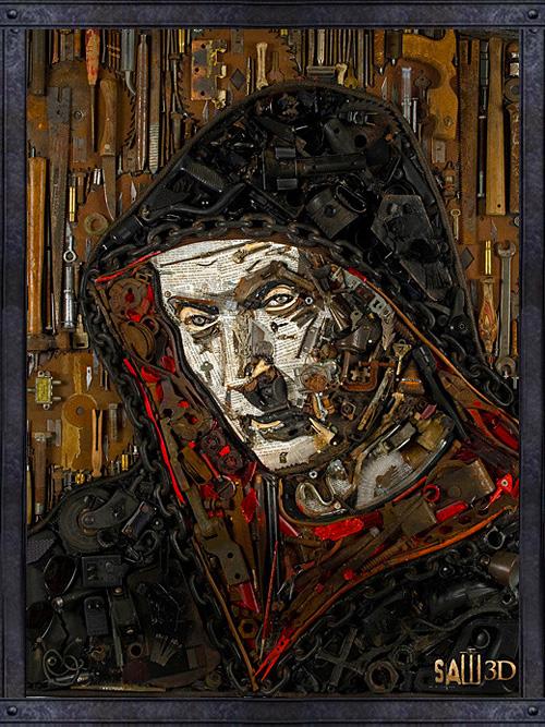 Jason Mecier's Saw 3D Poster
