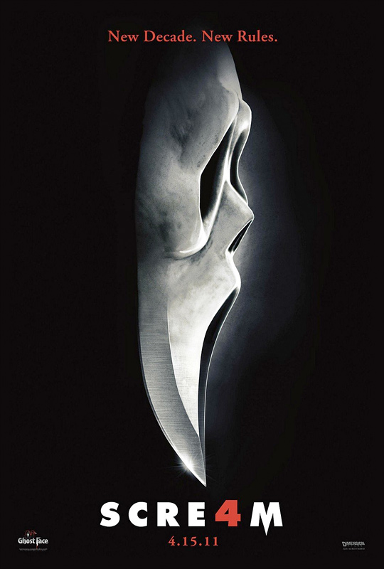 Wes Craven's Scream 4 Poster
