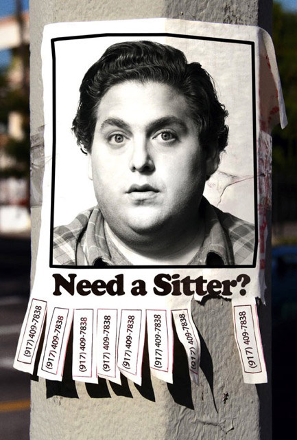 The Sitter - Classified Ad' Timeline Doodle
