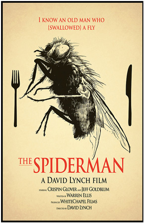 David Lynch's Spider-Man Poster