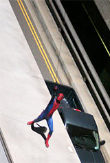 Spider-Man Set Photo