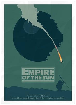 Matthew Ranzetta's Star Wars Crossover Poster