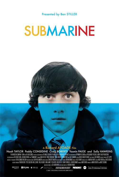 Richard Ayoade's Submarine Poster
