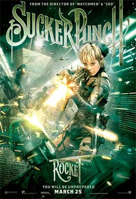 Sucker Punch Poster - Rocket