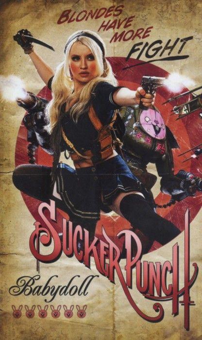 Sucker Punch Vintage Poster - Baby Doll