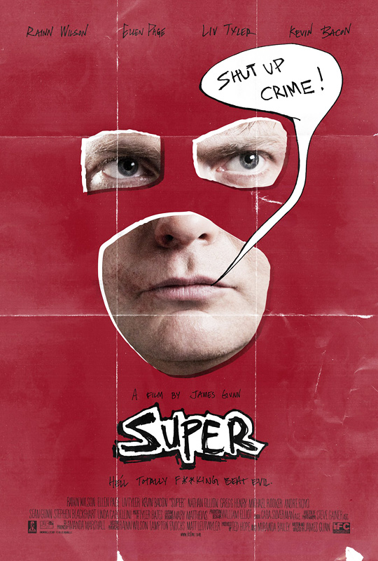 James Gunn's Super Poster