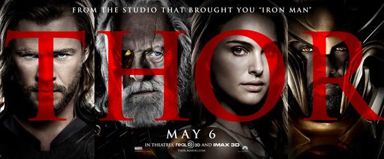 Marvel's Thor Official Banner