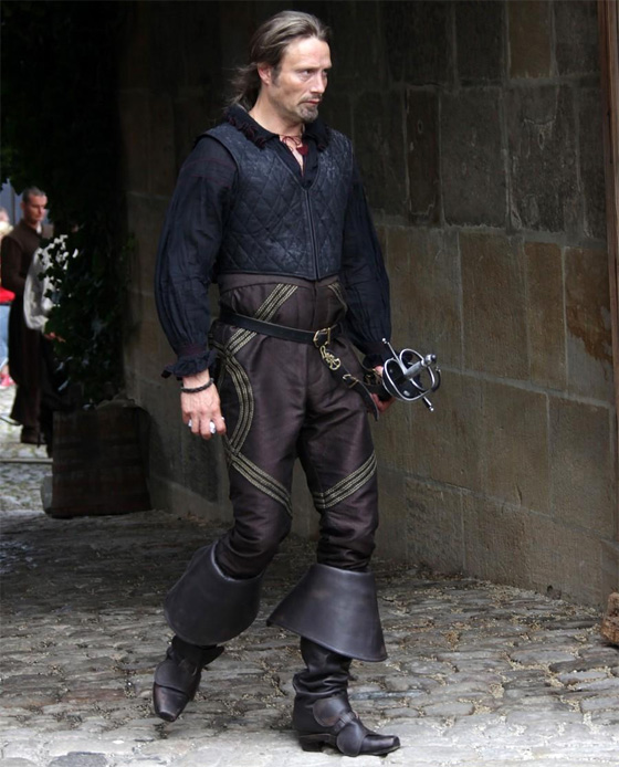 Mads Mikkelsen in Paul W.S. Anderson's The Three Musketeers