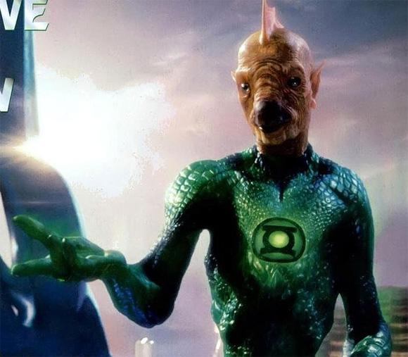 Green Lantern - Tomar-Re First Look