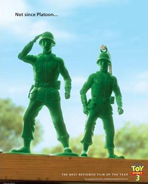 Toy Story 3 Oscar ad - Platoon