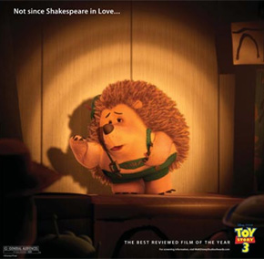 Toy Story 3 Oscar ad - Shakespeare in Love