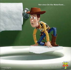 Toy Story 3 Oscar ad - On the Waterfront