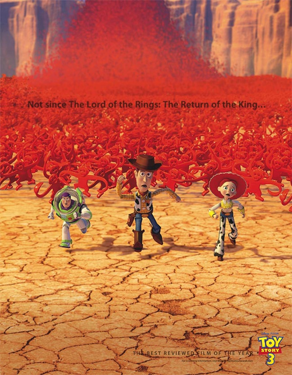 Toy Story 3 Oscar Ad - Lord of the Rings
