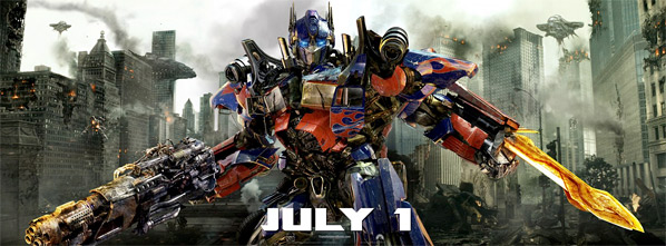 Transformers: Dark of the Moon Banner - Optimus Prime