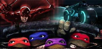 Daredevil / Tron Legacy / TMNT