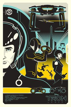 Eric Tan Tron Legacy Poster 2