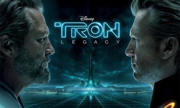 Tron Legacy Triptych - Kevin Flynn