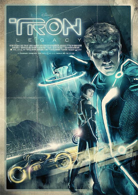 turk1672 Tron Legacy Poster