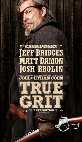 True Grit Poster - Jeff Bridges