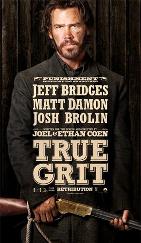 True Grit Poster - Josh Brolin