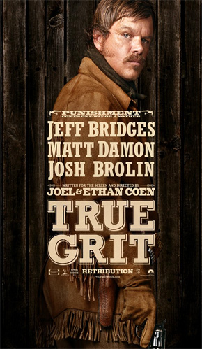 True Grit Poster - Matt Damon