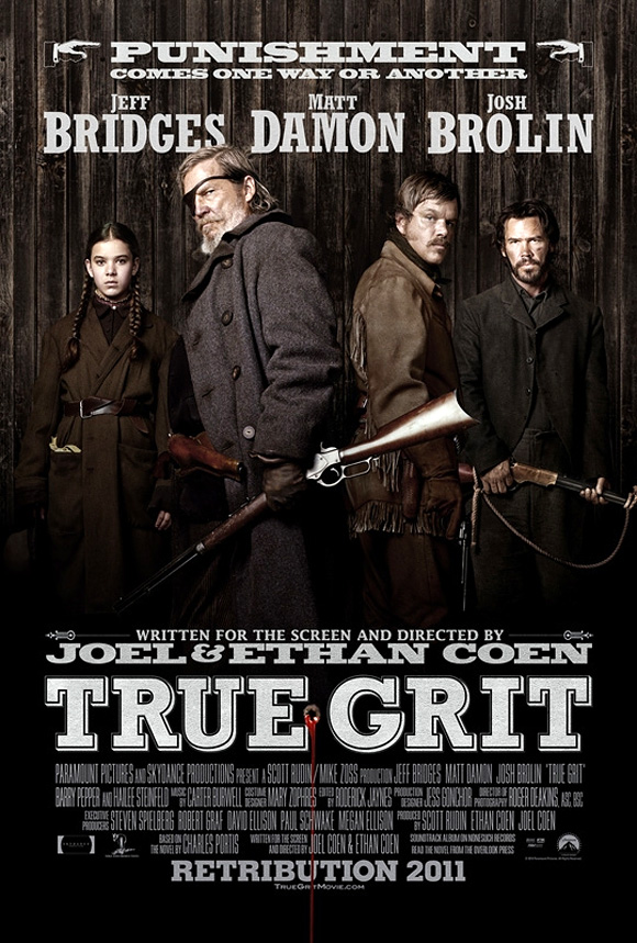True Grit UK Poster