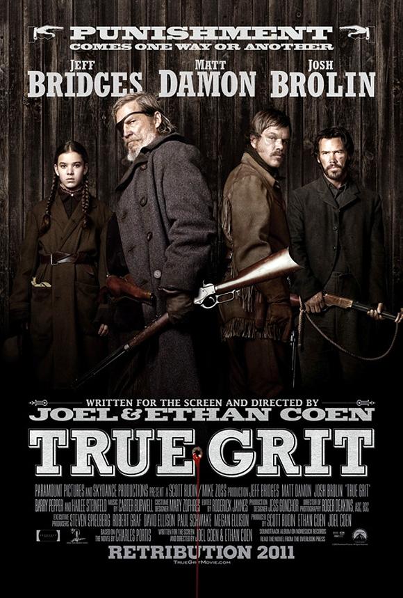 True Grit UK Poster