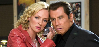 Uma Thurman and John Travolta