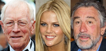 Robert De Niro, Brooklyn Decker, Max Von Sydow