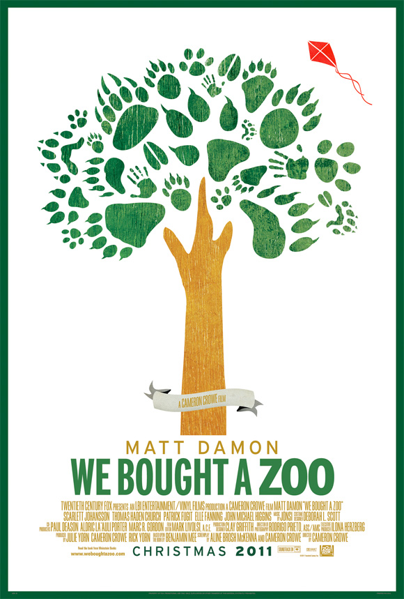 We Bought a Zoo Teaser Poster
