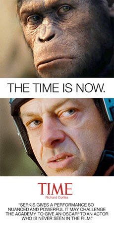The Time is Now - Andy Serkis for Oscar