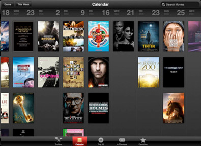 iTunes Movie Trailers App