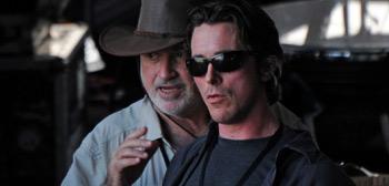 Terrence Malick & Christian Bale