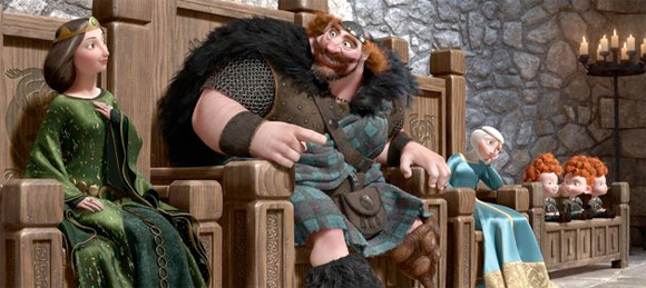 Pixar's Brave First Look