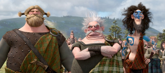Pixar's Brave Lords