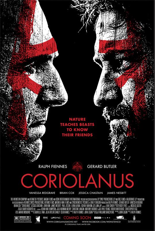 Ralph Fiennes' Coriolanus Poster