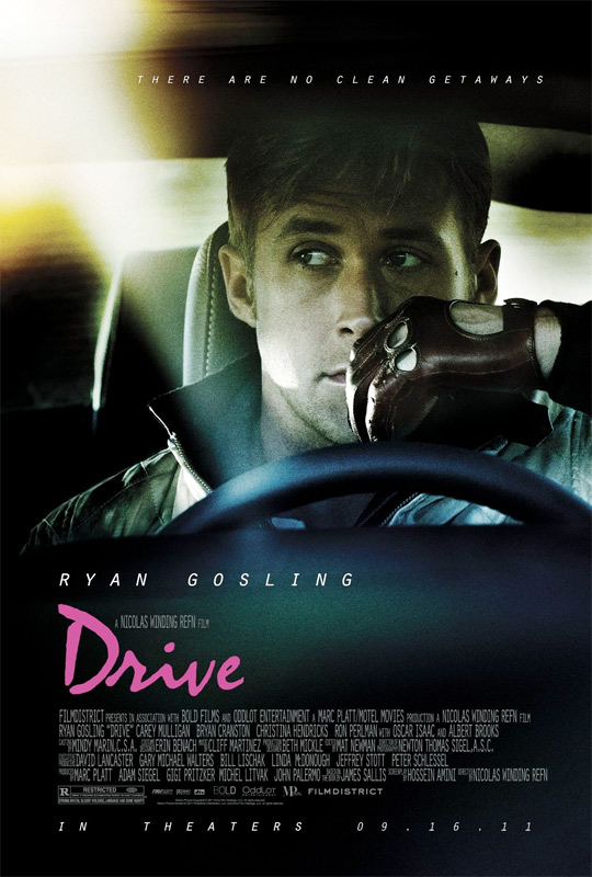 Ryan Gosling's Drive Poster