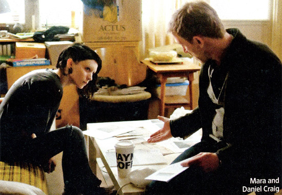 David Fincher's The Girl with the Dragon Tattoo Photos