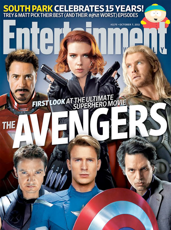 The Avengers EW Cover