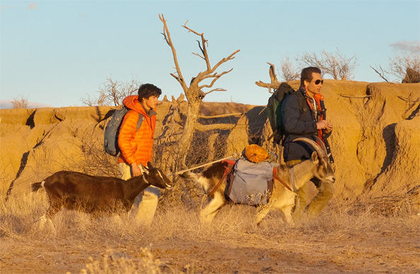 First Look - David Duchovny & Graham Phillips in Goats