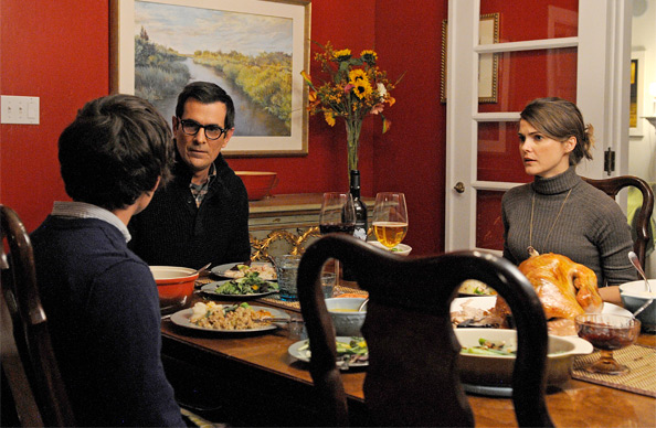 First Look - Ty Burrell, Keri Russell & Graham Phillips in Goats