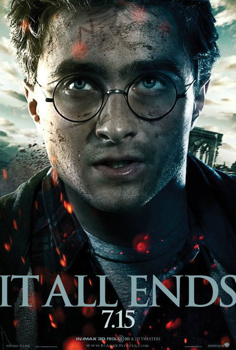 Harry Potter and the Deathly Hallows Poster - It All Ends