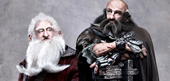 Balin & Dwalin from The Hobbit