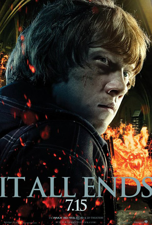 Harry Potter and the Deathly Hallows: Part 2 Poster - Ron Weasley