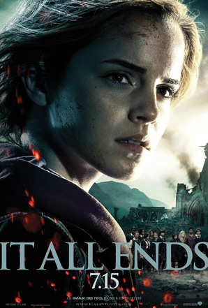 Harry Potter and the Deathly Hallows: Part 2 Poster - Hermione Granger