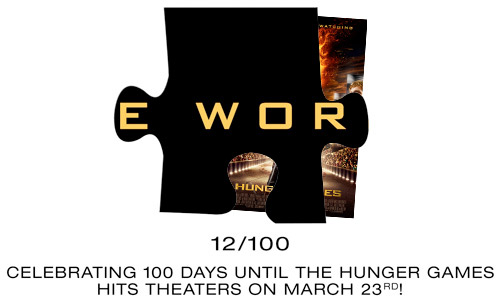 Hunger Games 100 Puzzle Piece 12