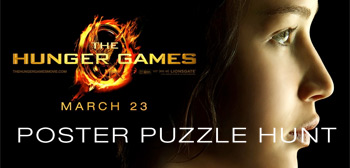 The Hunger Games Poster Puzzle Hunt