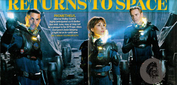 Ridley Scott's Prometheus - Returns to Space