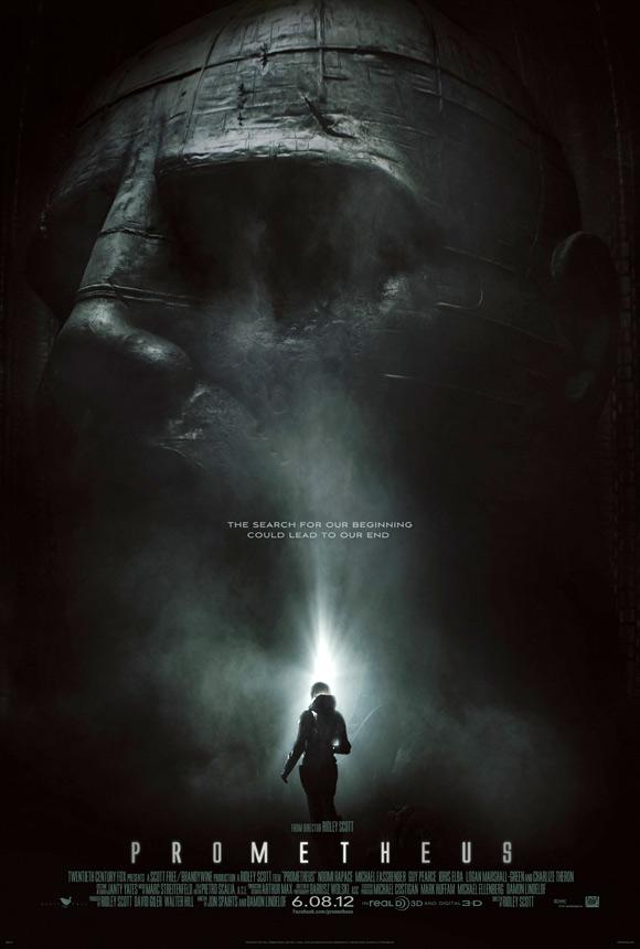 Ridley Scott's Prometheus Teaser Poster