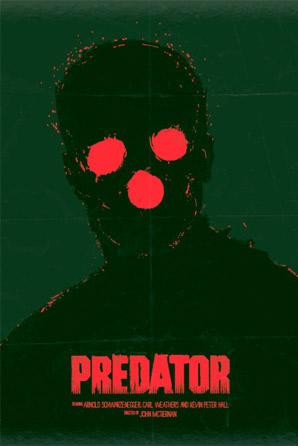 Dan Norris - Schwarzenegger Series Poster - Predator